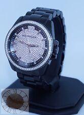 Wittnauer Men's Black Stainless Steel Bracelet Watch WN3057, New