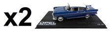 Lot de 2 Opel Kapitan P1 Limousine 1/43 Eaglemoss Voiture Diecast Model Car -3