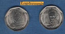 V République 1959 - / 2 Francs 1995 Pasteur SUP SPL Commémorative