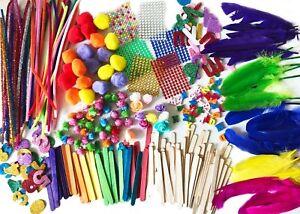 Art & Craft Kit Bundle Kids Activities Supplies Assorted Pack over 500pcs Child
