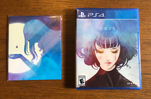 Gris PS4 Sealed New Limited Run Games With Art Card Set LRG 313