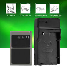 USB Battery Charger Charging Station+Cable For Olympus BLS1/BLS5/BLS50