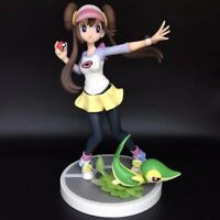 6.5'' Pokemon Pocket Monster Pikachu Mei / Rosa & Snivy Action Figure toy Gift