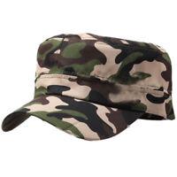 Uomo Donna Militare Cadetto Casual Cappello Baseball Outdoor Regolabile  Bianco 70f9bca43e26