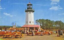 Wakefield MA Pleasure Island Hawke's Point Lighthouse Postcard