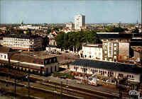 Chateuroux Indre France Carte Postale Place La Gare Bahnhof AK ~1960 ungelauf.