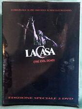 LA CASA - THE EVIL DEAD - DVD SIGILLATO BOX DIGIPACK 2 DVD N.00895