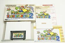 Super Mario Advance 2 GBA Nintendo Gameboy Advance Box Japan USED