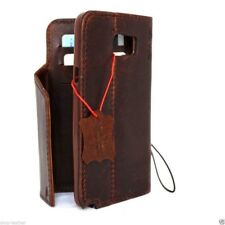 genuine vintage leather Case for samsung galaxy note 5 book wallet handmade thin
