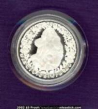 2002 Australia $5 Silver Proof Coin - Queen Mother