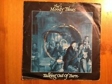 THE MOODY BLUES1981 Vinyl 45rpm Single TALKING OUT OF TURN