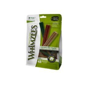 Whimzees Stix Extra Small 56 Pack - Vegetarian Gluten Free Dog Chews Treats