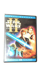 Star Wars Episode II: Attack of the Clones (2-Disc DVD, Full Screen) VG+ Shape!
