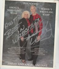 WWE JIMMY VALIANT HAND SIGNED AUTOGRAPHED 8X10   PHOTO
