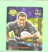 2007 GOLD SERIES  RUGBY LEAGUE TAZO - #26  FRANK PRITCHARD, PENRITH PANTHERS