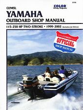 Clymer Yamaha Outboard Work Shop Repair Manual 115-250 HP 2 STROKE 1999-2002
