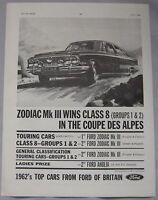 1962 Ford Original advert No.1