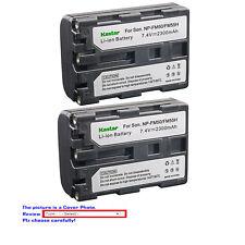 Kastar Battery NP-FM50 for Sony NP-FM55H NP-QM51 NP-QM71 NP-QM71D NP-QM91 NPQM9D