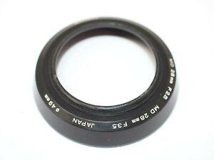 Minolta Lens Hood for 28mm f2.8 MD & 28mm f3.5 MD Lenses