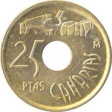 DESIGNED SIGNED CESAR MANRIQUE 25 Peseta Coin 1994 Lanzarote RARE
