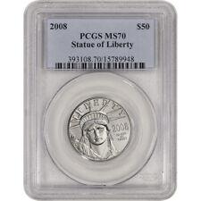 2008 American Platinum Eagle 1/2 oz $50 - PCGS MS70
