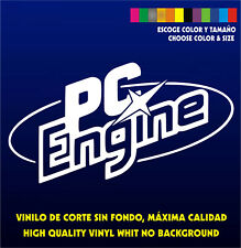 Sticker Vinilo - Pc Engine - Bartop Arcade Pegatina Vinyl Aufkleber Autocollant
