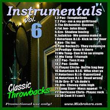 DJ White Rock Instrumentals vol.6 ( Hip Hop )