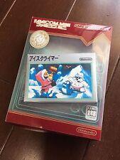 EXCELLENT NINTENDO GAME BOY ADVANCE FAMICOM MINI ICE CLIMBER CLINMER JAPAN