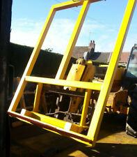 More details for bale spike for jcb teleporter tool carrier/ tractor loader choice of bracket