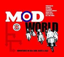 NEW AND SEALED 2CD SET ~ MOD WORLD 48 VINTAGE SKA,SOUL,BLUES & JAZZ CLASSICS
