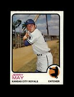 1973 Topps Baseball #558 Jerry May (Royals) NM+
