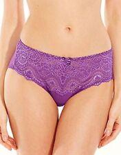 Polyamide Floral Regular Size Thongs Briefs for Women