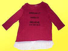Haut pour Femmes Maillot Manches Longues Chemisier Blouse Shirt Tunique