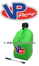 VP Fuel Green 5 Gallon Racing Fuel Gas Jug + 1 Fill Hose Circle Track Off Road