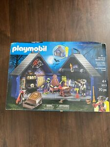 BRAND NEW IN DAMAGED/OPENED BOX PLAYMOBIL TAKE ALONG HAUNTED HOUSE 9312