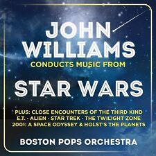 JOHN WILLIAMS/BPO - JOHN WILLIAMS CONDUCTS MUSIC FROM STAR WARS 2 CD NEUF