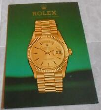 Rare Vintage Advertising Sign Cardboard Display Rolex Oyster Day Date 70s
