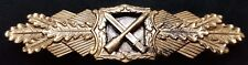 ✚7941✚ German Army Wehrmacht Close Combat Clasp in Bronze post WW2 1957 pattern