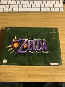 Genuine Original Zelda Legend Of Majora's Mask Nintendo 64 N64 Game - Gold Cart