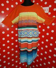 MARINA RINALDI SPORT plus sz 1X Μ(MR25) us16W  t-shirt dress tunic long blouse