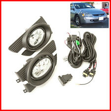 For 98-02 Honda Accord 4DR Sedan Fog Lights Driving Lamps Set  Assembly Kit OE