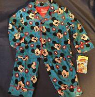 Boy's Pajamas Disney Junior Mickey 2-piece Long Sleeve Pajamas Set - 2T