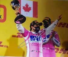 F1 2021 signed poster Sergio Perez 1st win Checo Racing Point Red Bull Formula 1
