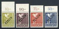 Berlin MiNr. 17 -20 P OR postfrisch MNH gep. Schlegel (MA1127