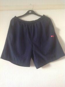 Puma Men's Black Training Shorts Large