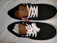 Authentic Vans Off The Wall 500714 Men's Shoe Black/leather Checkered Size 11