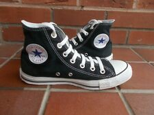 Authentic...CONVERSE Black Hi-Top Trainers * s5.5 uk * NICE CONDITION!