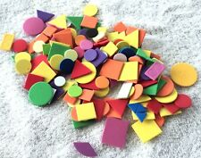 Assorted Geometric Foam Shapes Kids Crafts Scrapbooking Classroom