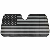 Auto Sun Shade Black Flag Front Window Windshield Protector for Car Truck SUV