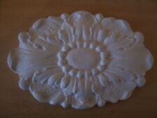 Ornate plaster pediment embellishment decor mouldings wall plaques interior new